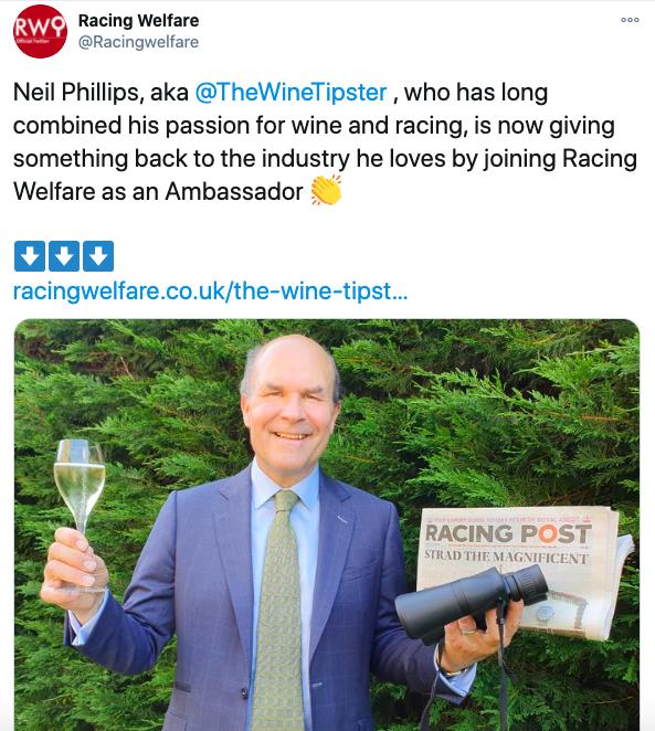 Racing Welfare Ambassador