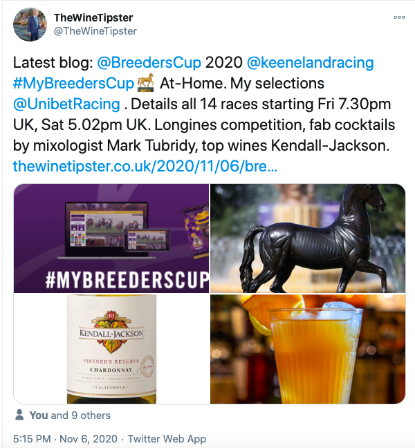 breeders cup 2020