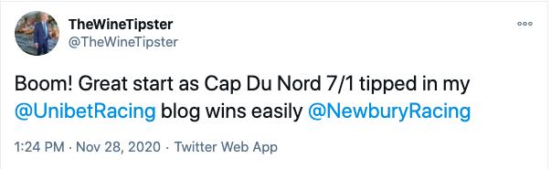 newbury 2020 win