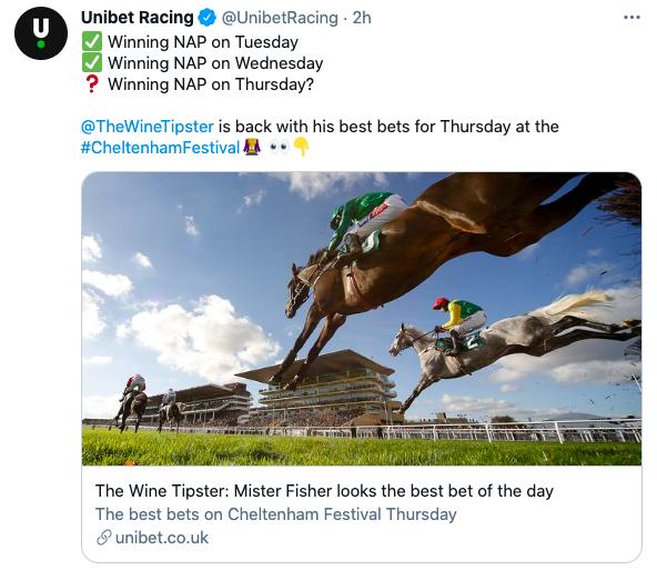 unibet chelt fest 2x wins