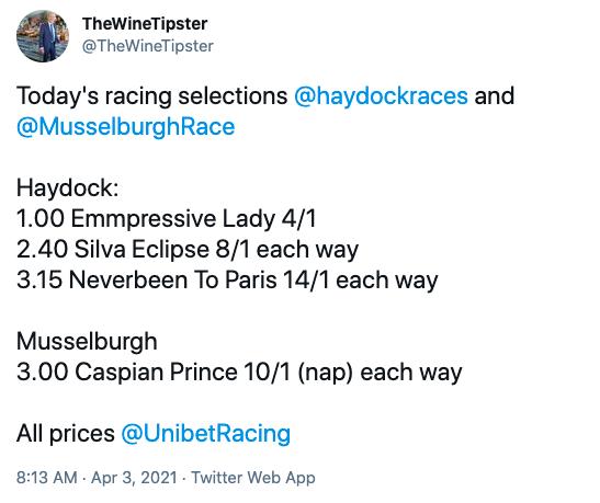 Haydock selections