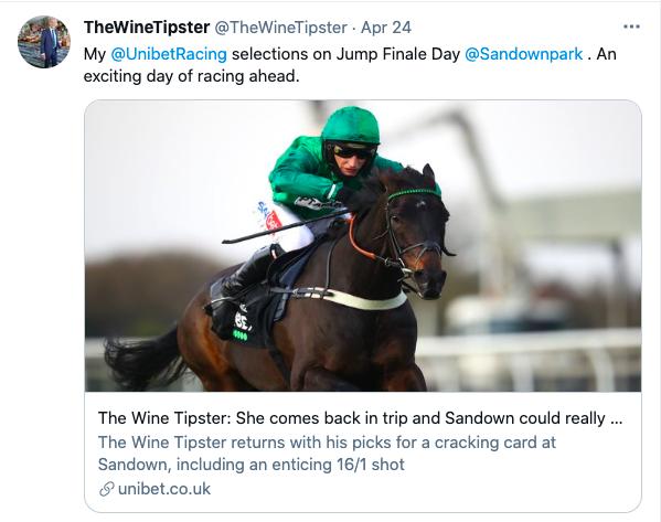 sandown unibet april 2021