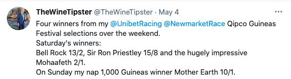 guineas winners