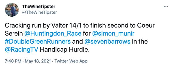Huntingdon Racing May 2021