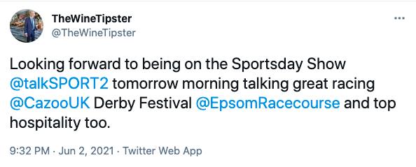 TalkSport2 Epsom 2021