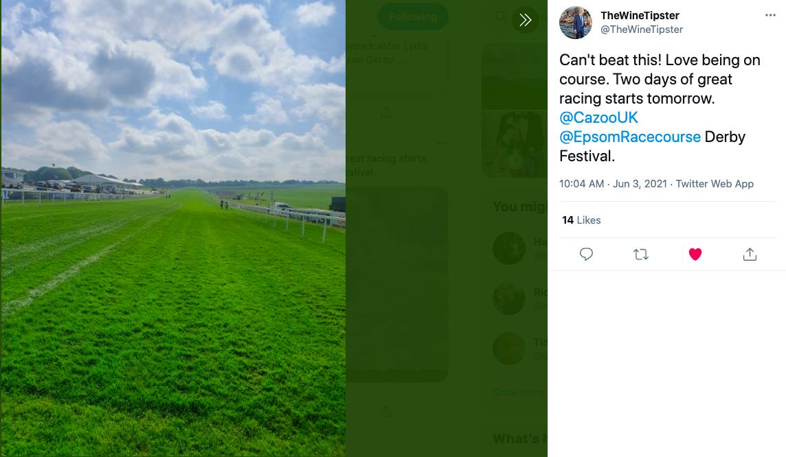 Epsom racecourse 2021