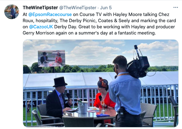 Course TV at Epsom June 2021