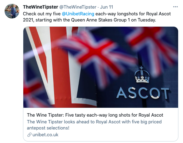 Royal Ascot longshots Day 1