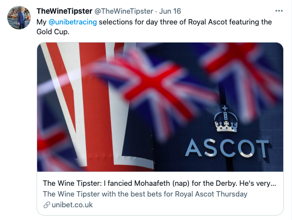 Gold Cup Ascot selections 2021