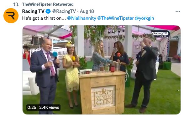 York Gin Racing TV