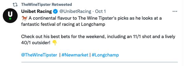 Unibet Longchamp Arc