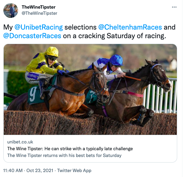 Chelt and Doncaster Unibet again